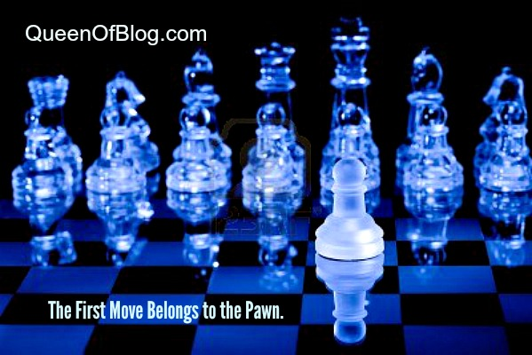 the blog is to website content what the pawn is to chess