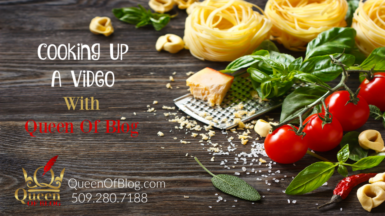 queen of blog cooks up a video vlogg