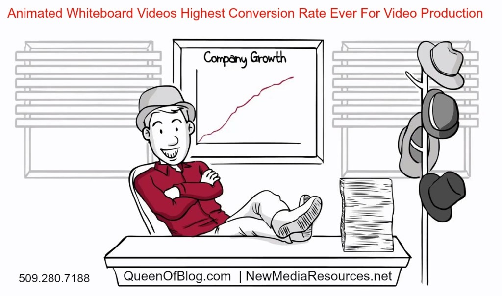 whiteboard animated video