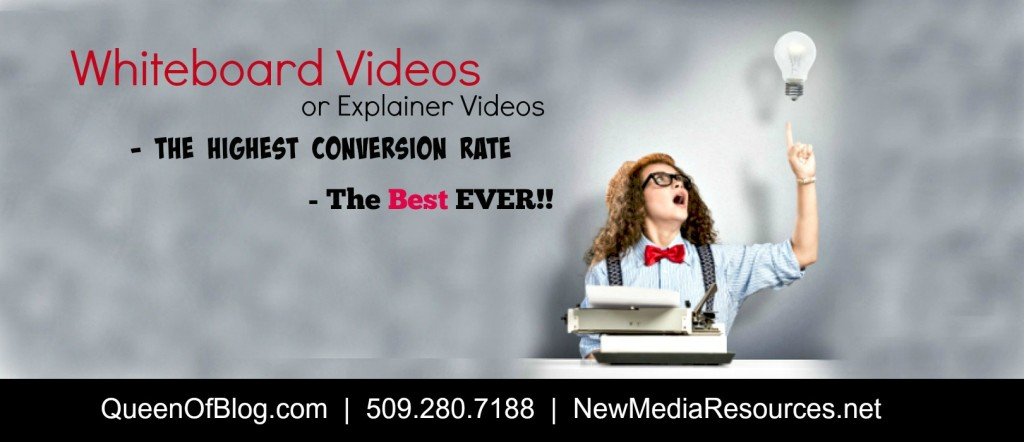 whiteboard videos conversion rate high